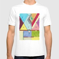 Prism # 1 Mens Fitted Tee White SMALL