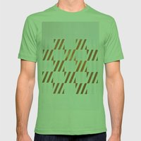 Cuadros Optart Mens Fitted Tee Grass SMALL