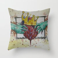 Claddaaaaaaaaaaaaagggggg… Throw Pillow