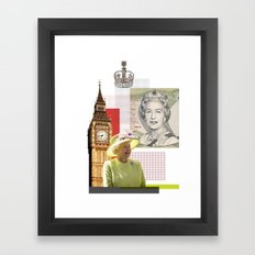 Great Britain Framed Art Print