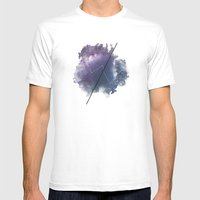 Cosmic Jargon Mens Fitted Tee White SMALL
