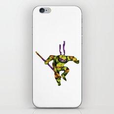Bo Staff Turtle iPhone & iPod Skin