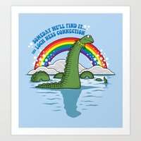 The Lochness Connection Art Print