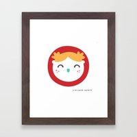 NIÑA Framed Art Print