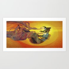 Korra Art Print