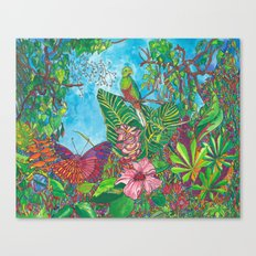 The Three Secrets of the Selva Canvas Print