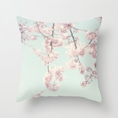On a spring day Throw Pillow