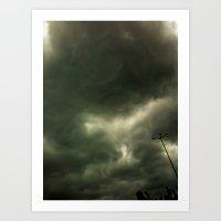 Black Heaven  Art Print
