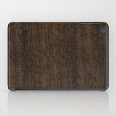 Smoked Etimoe Wood iPad Case