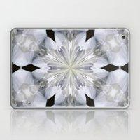 White Arctic Queen Kaleidoscope Laptop & iPad Skin