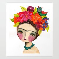 Frida And The Bird In He… Art Print