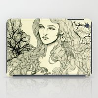 Inverted Mermaid iPad Case