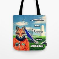 Starfox - F*CK YOU PEPPY! Tote Bag