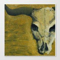 Dry. Canvas Print