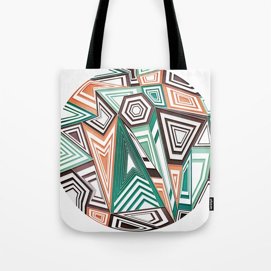 Funky in the Middle Tote Bag