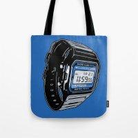 Casio F-105 Digital Watch Tote Bag