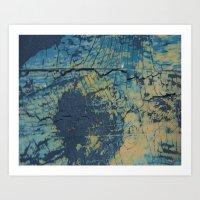 Rustic Surface 2 Art Print