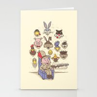 Wevenge! Stationery Cards