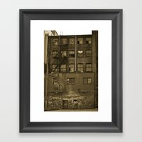 Woodwards Framed Art Print