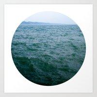 Nautical Porthole Study No.1 Art Print