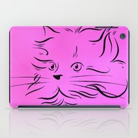 Cat Lines iPad Case