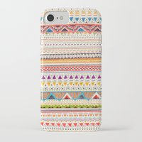 fall iPhone & iPod Cases featuring Pattern by Sandra Dieckmann