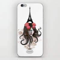 RECUERDA PARÍS iPhone & iPod Skin