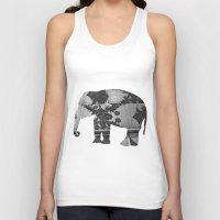 Elephant (The  Living Th… Unisex Tank Top