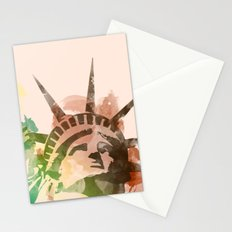 Miss Liberty Stationery Cards