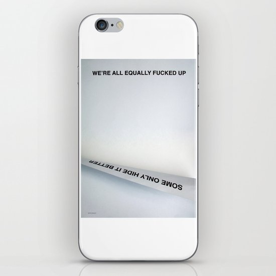 Equally (Take Two) iPhone & iPod Skin