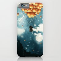 iPhone Cases featuring Where all the wishes come true by Paula Belle Flores