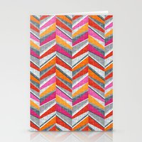 Discontinuous Line Stationery Cards