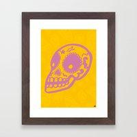Sugar Skulls Framed Art Print