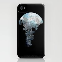 iPhone 4s & iPhone 4 Cases featuring Secret Streets II by David Fleck