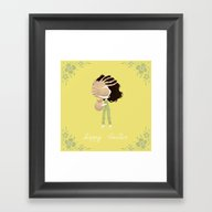 Framed Art Print featuring Surprise by Yohan Sacre