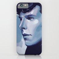 sherlock iPhone & iPod Cases featuring Sherlock by Angela Taratuta