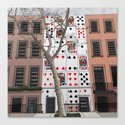 House of Cards Canvas Print