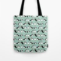 Just Puffins Tote Bag