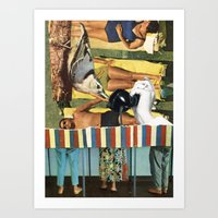 People Will Talk Art Print