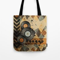Retro Vinyl. Tote Bag