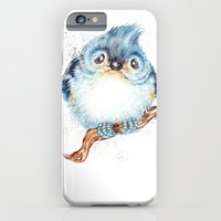 baby iPhone & iPod Cases featuring Baby titmouse by Patrizia Ambrosini