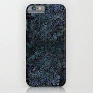 3D Ornaments, Blue iPhone 6 Slim Case