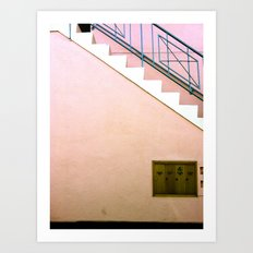 Silverlake Stairs Art Print