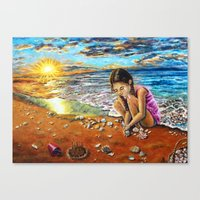 Treasure Hunter Canvas Print