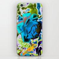 Azure Rose iPhone & iPod Skin