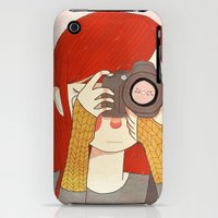 iPhone 3Gs & iPhone 3G Cases featuring Behind The Lens by Nan Lawson