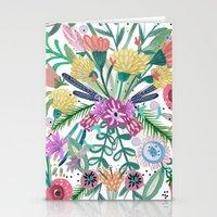 Flower Burst, Illustrati… Stationery Cards