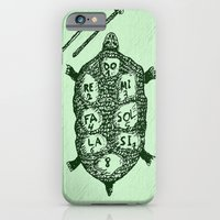Turtle On Green iPhone 6 Slim Case