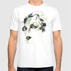 Would you like one? Mens Fitted Tee White SMALL