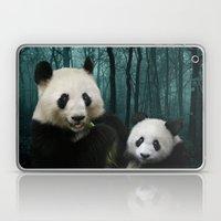 Giant Pandas Laptop & iPad Skin